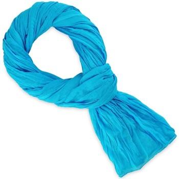 Accessoires textile Echarpes / Etoles / Foulards Allée Du Foulard Chèche coton uni - Couleur - Turquoise Turquoise