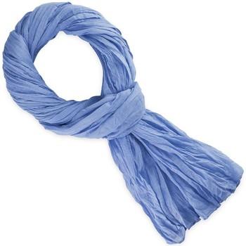 Accessoires textile Echarpes / Etoles / Foulards Allée Du Foulard Chèche coton uni Bleuet