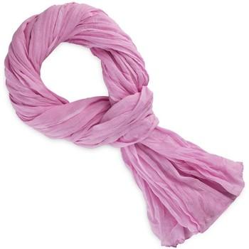 Accessoires textile Echarpes / Etoles / Foulards Allée Du Foulard Chèche coton uni Rose cashemire