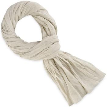 Accessoires textile Echarpes / Etoles / Foulards Allée Du Foulard Chèche coton uni Blanc de lin