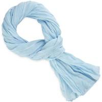 Accessoires textile Echarpes / Etoles / Foulards Allée Du Foulard Chèche coton uni Bleu ciel