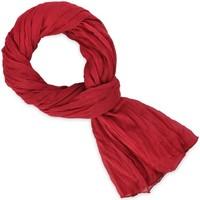 Accessoires textile Echarpes / Etoles / Foulards Allée Du Foulard Chèche coton uni Rouge baisers