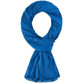 Accessoires textile Echarpes / Etoles / Foulards Allée Du Foulard Chèche coton uni Bleu roi