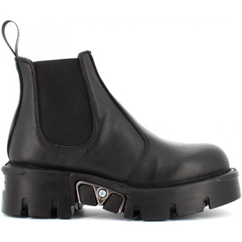 Chaussures Femme Low boots New Rock  Nero