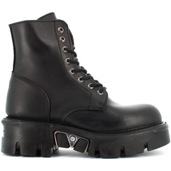 Chaussures Femme Boots New Rock  Nero