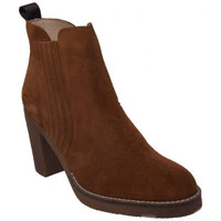 Chaussures Femme Boots Rose Metal fabens Marron