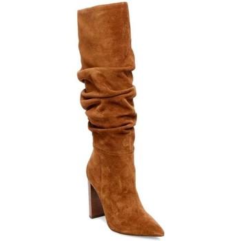 Chaussures Femme Bottes ville Steve Madden SMSSWAGGER-COG marron
