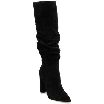 Chaussures Femme Bottes ville Steve Madden SMSSWAGGER-BLK Noir