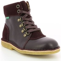 Chaussures Fille Boots Kickers Kick Hood VIOLET