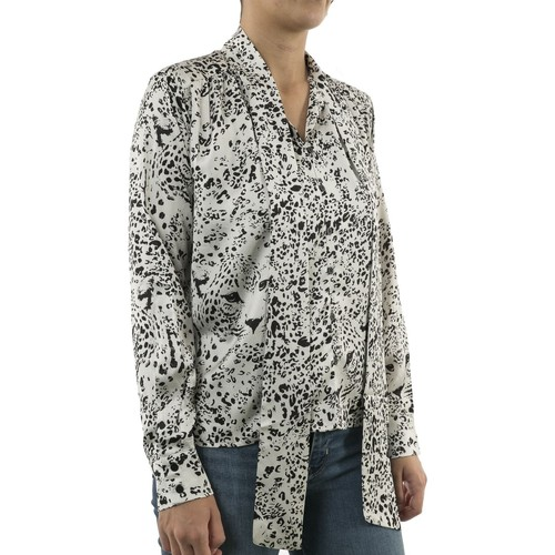 p1305aa19  Molly Bracken  chemises / chemisiers  femme  beige