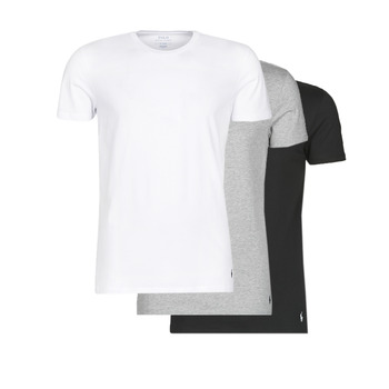 Vêtements Homme T-shirts manches courtes Polo Ralph Lauren WHITE/BLACK/ANDOVER HTHR pack de