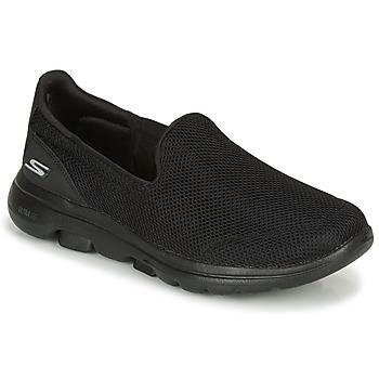 Chaussures Femme Baskets basses Skechers GO WALK Black