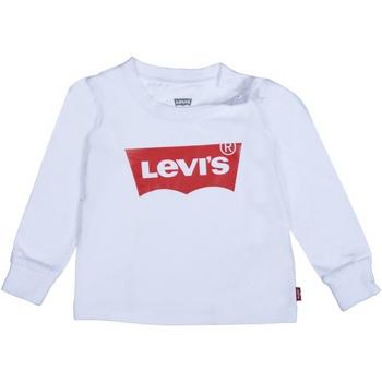 Vêtements Garçon T-shirts manches longues Levi's T-Shirt Bébé logotypé Blanc