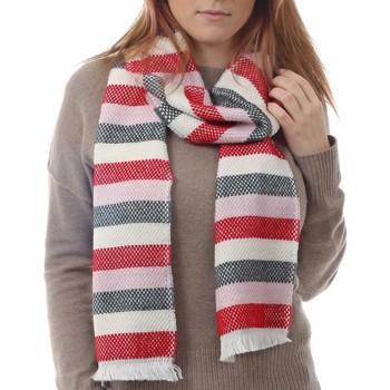 Accessoires textile Femme Echarpes / Etoles / Foulards Qualicoq Echarpe Tessa - Couleur - Rouge - Fabriqué en France Rouge