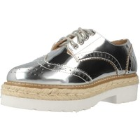 Chaussures Femme Espadrilles MTNG 51785M Argent