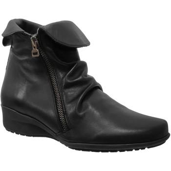 Chaussures Femme Bottines Folies Gala Noir cuir