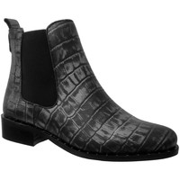 Chaussures Femme Bottines Folies Youpiclou Noir/gris