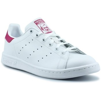 Chaussures Fille Baskets basses adidas Originals Stan Smith Junior Blanc B32703 Blanc