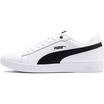 Chaussures Femme Baskets basses Puma Smash v2 Leather Women Weiss