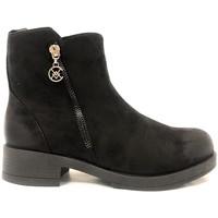 Chaussures Femme Boots Chattawak Botine 8-Vamp Noir Noir