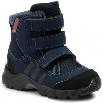 Chaussures Enfant Bottes de neige adidas Originals CW Holtanna Snow CF Noir,Bleu marine