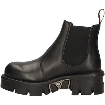 Chaussures Femme Low boots New Rock NRSM-1554ASA-C1 NOIR
