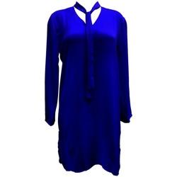 Vêtements Femme Tuniques By La Vitrine Tunique l'olive verte Marine CH3 Bleu