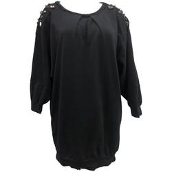 Vêtements Femme Tops / Blouses Rich & Royal Sweet mi manche Noir 13Q223 Noir