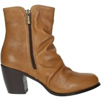 Chaussures Femme Boots Elena Del Chio 5803 Marron cuir