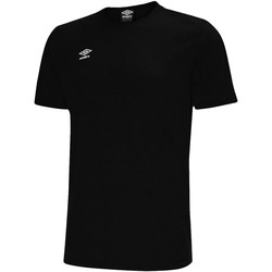 Vêtements Homme T-shirts manches courtes Umbro Pro Taped Tee Schwarz