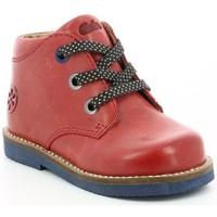Chaussures Garçon Boots Aster Selas ROUGE