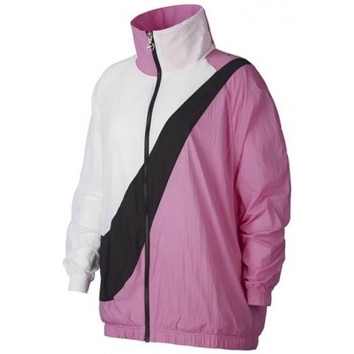 Vêtements Femme Blousons Nike VESTE FEMME  SWOOSH / ROSE Rose