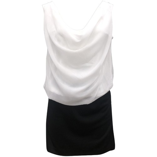 Vêtements Femme Robes By La Vitrine Robe Noir Blanc Coco Giulia 0Y-019 Noir