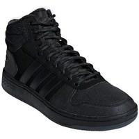 Chaussures Homme Baskets montantes adidas Originals Hoops Mid 20 Noir