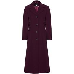 Vêtements Femme Manteaux Anastasia Manteau de cachemire simple d'hiver Red