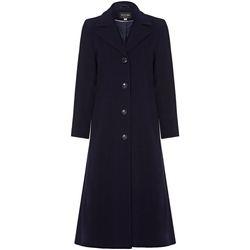 Vêtements Femme Manteaux Anastasia Manteau de cachemire simple d'hiver Navy
