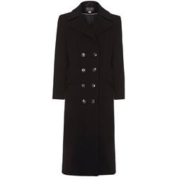 Vêtements Femme Manteaux Anastasia Manteau D'Hiver en Cachemire Simple Boutonnage Black
