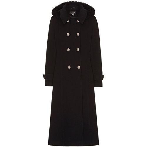 Vêtements Femme Manteaux Anastasia Manteau Militaire en Cachemire Black