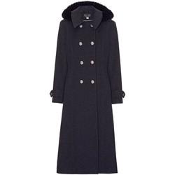 Vêtements Femme Manteaux Anastasia Manteau Militaire en Cachemire Grey