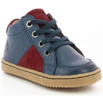 Chaussures Garçon Baskets montantes Aster Wiki MARINE