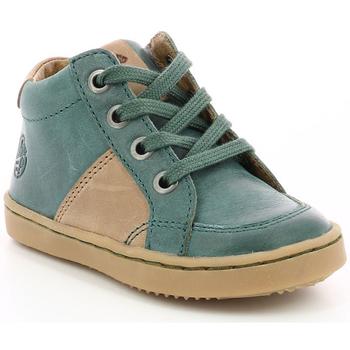 Chaussures Garçon Baskets montantes Aster Wiki VERT FONCE
