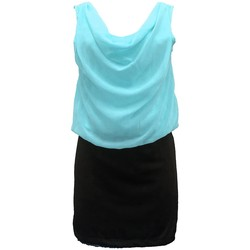 Vêtements Femme Robes By La Vitrine Robe Noir Vert Coco Giulia 0Y-019 Noir