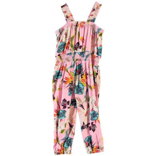 Vêtements Fille Combinaisons / Salopettes Guess Combinaison Imprimé Floral Rose K82K09