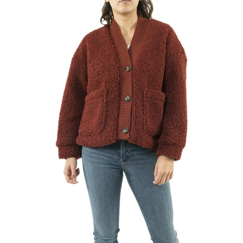 Vêtements Femme Gilets / Cardigans Vero Moda 10220719 annika marron