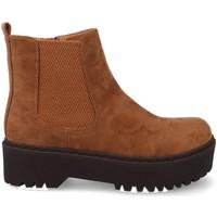 Chaussures Femme Boots Prisska JZ982 Marron