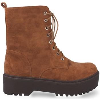 Chaussures Femme Bottines Prisska JZ983 Camel