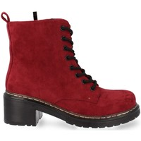 Chaussures Femme Boots Prisska MT06 Burdeos