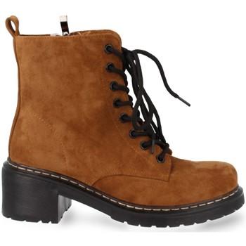 Chaussures Femme Boots Prisska MT06 Camel