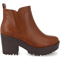 Chaussures Femme Low boots Prisska Y5651 Camel