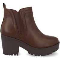 Chaussures Femme Low boots Prisska Y5651 Marron